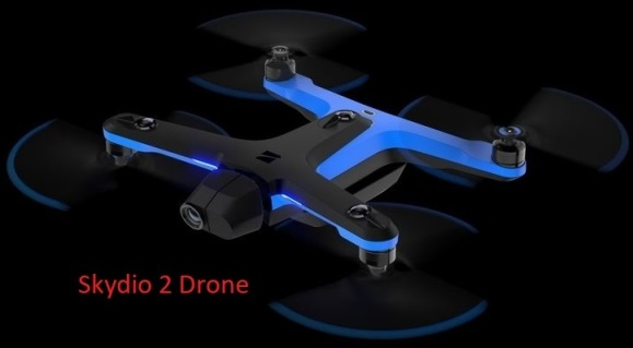 Skydio 2 drone that follows you