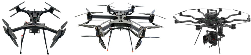 quadcopters vs hexacopters vs octocopters